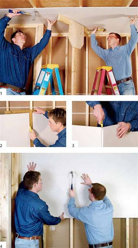 how to replace drywall in bathroom best 25 how to install drywall ideas on pinterest