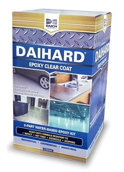 daich coatings daihard clear coating