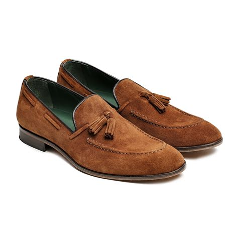 Sneakers Fashion Ad Hpd 347 Abu suede tassel loafer brown 40 re shoes touch of modern