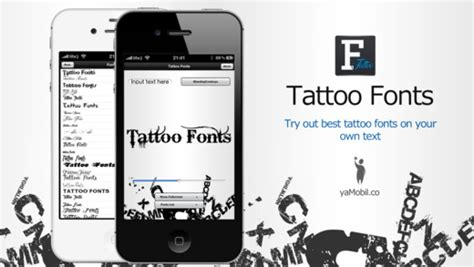 tattoo fonts app fonts app review apppicker