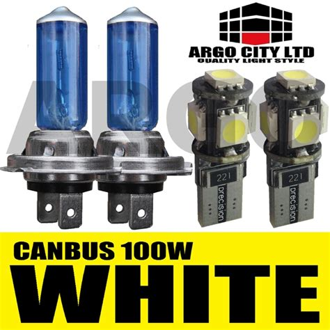 lada h7 100w 501 canbus h7 xenon white 100w bulbs beam hid