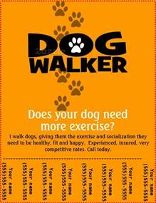 Walking Poster Template by How To Start A Walking Business A Healthy And