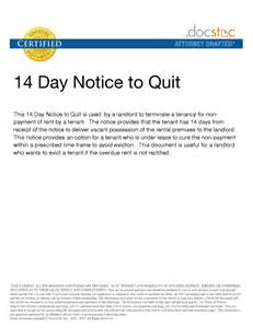 14 Day Eviction Notice Template by 10 Best Images Of 14 Day Eviction Notice Template