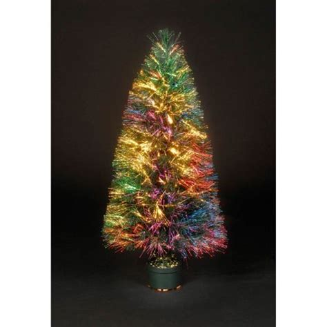 buy 2ft sunburst fibre optic christmas tree from our