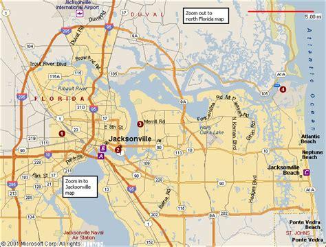 jacksonville map map of jacksonville fl afputra