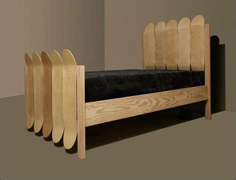 skateboard bedroom furniture 176 best images about skateboard recycled on pinterest