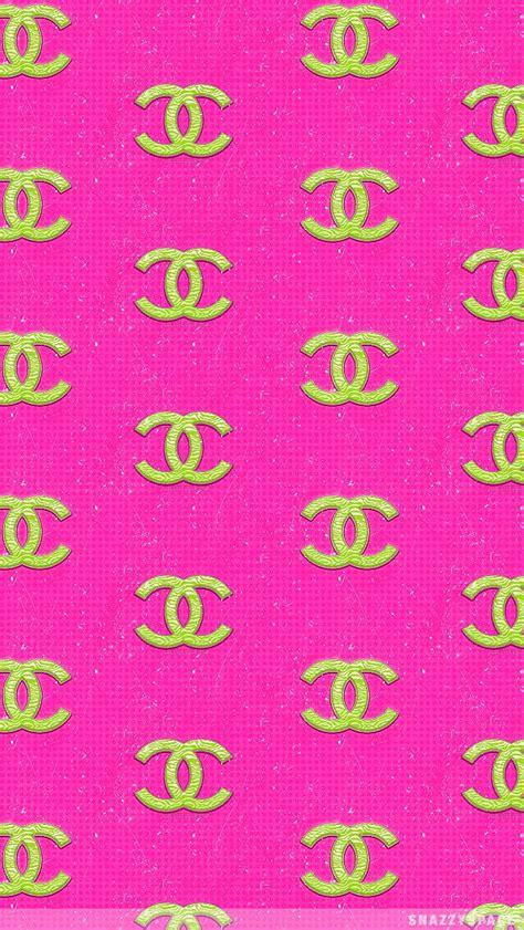 chanel fashion logo pink pattern hd wallpapers  iphone