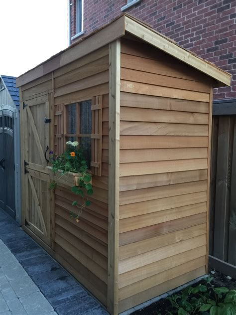 lean  shed kits outdoor storage solutions cedarshed