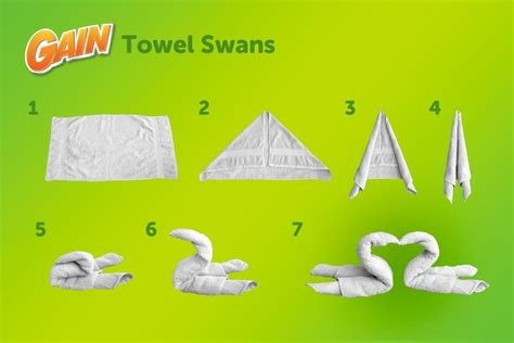 How Do You Make A Paper Swan - 17 best images about swan towels on the
