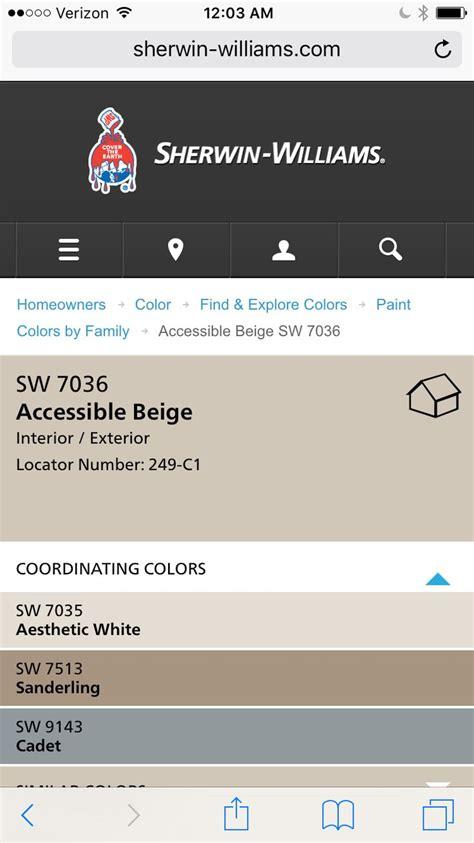 color coordinating accessible beige coordinating colors paint colors