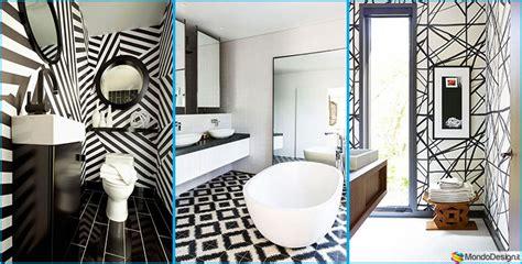arredi originali bagno bianco e nero 20 idee di arredo originali