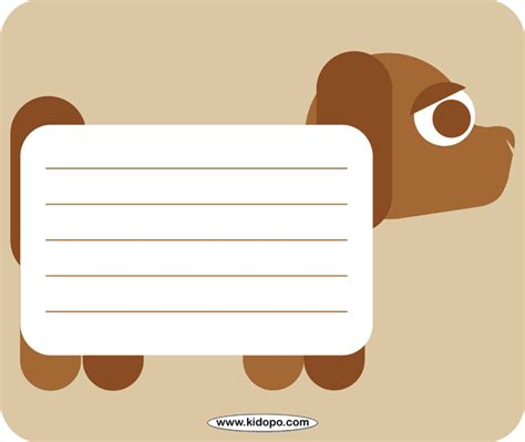 printable writing paper with dogs printable dog writing paper