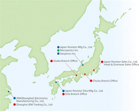 resistor manufacturing company ltd location company information jrm japan resistor mfg co ltd