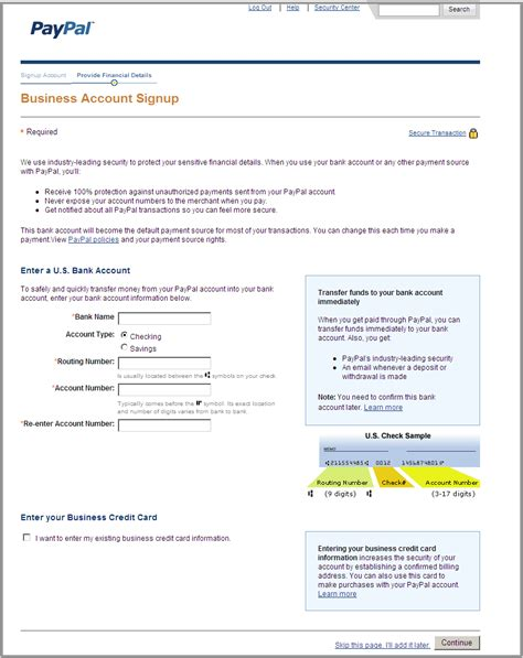 Paypal Business Account Accept Credit Card