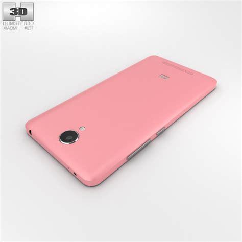 Smile Xiaomi Redmi Note Pink xiaomi redmi note 2 pink 3d model hum3d