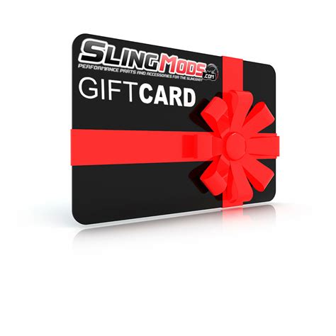 Sling Gift Card - give your loved one what they really want slingmods gift certifificate