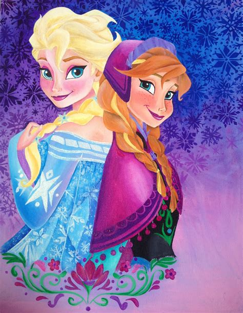 painting frozen frozen elsa painting by chloesmith8 on deviantart
