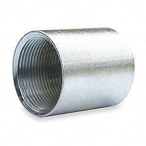 Threaded Coupling 1 14 power rigid conduit coupling 1 1 4 in steel 2cln8 2cln8 grainger