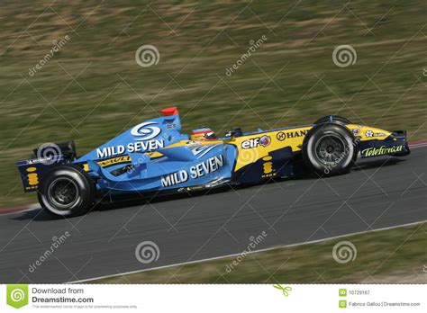 renault f1 alonso f1 2006 fernando alonso renault editorial photography