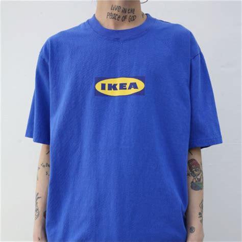 ikea t shirt oversized ikea t shirt women s fashion clothes tops on