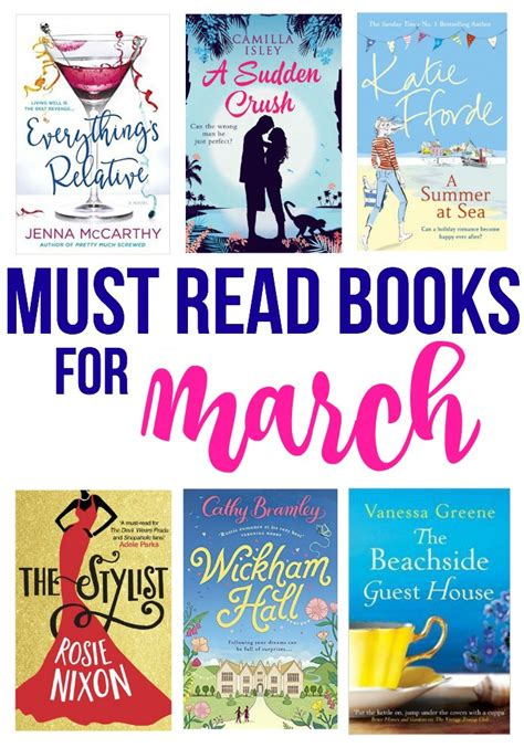 7 Must Read Books For by Must Read Books For March Bradford