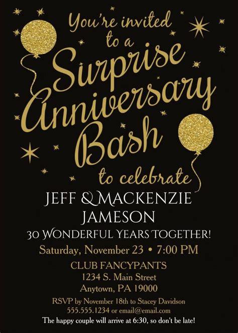 wedding anniversary invitations shutterfly