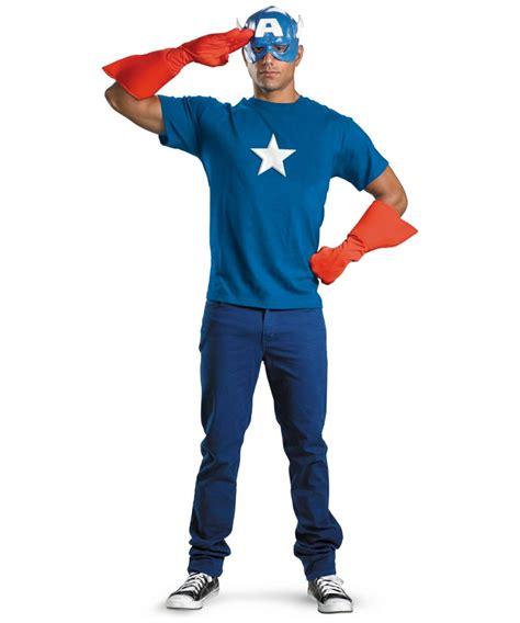 adult captain america kit  costume men costumes