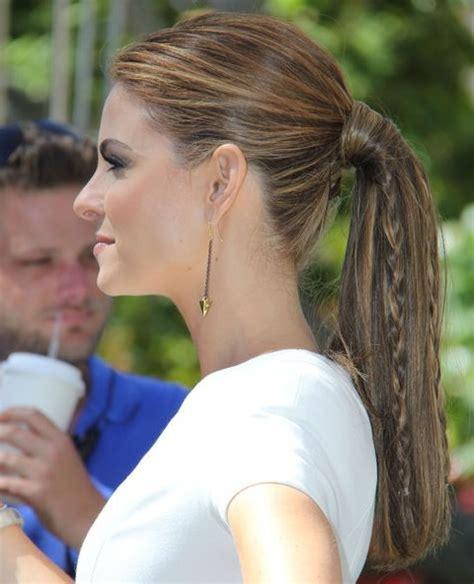 mature pony tail hairstyles top 40 maria menounos gorgeous hair styles pretty designs