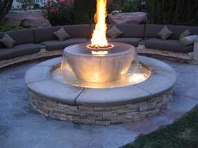 Make A Gas Fire Pit - how to build a natural gas fire pit fire pit ideas