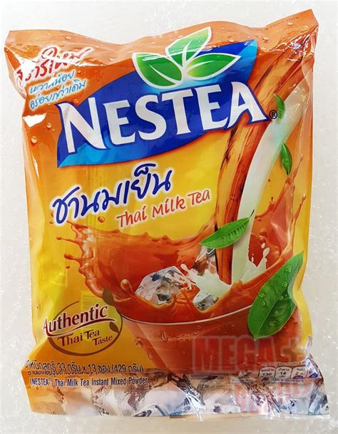 Nestle Nestea Thai Milk Tea Import 13 Sachet nestle nestea instant thai milk tea cha yen mix powder 429g 33g x 13 sachets ebay