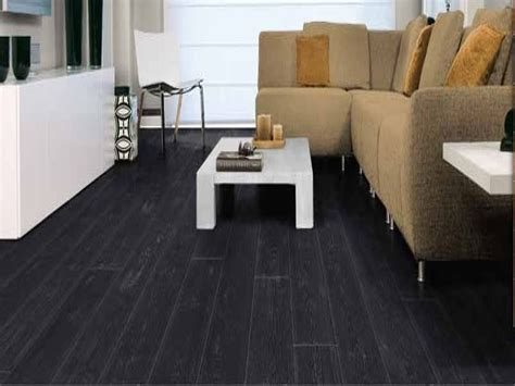 black hardwood flooring   excellent combination  quality  style interior design