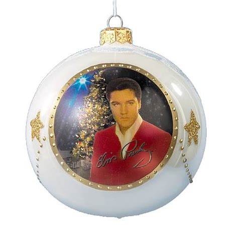 elvis presley polonaise glass ornament kurt s adler