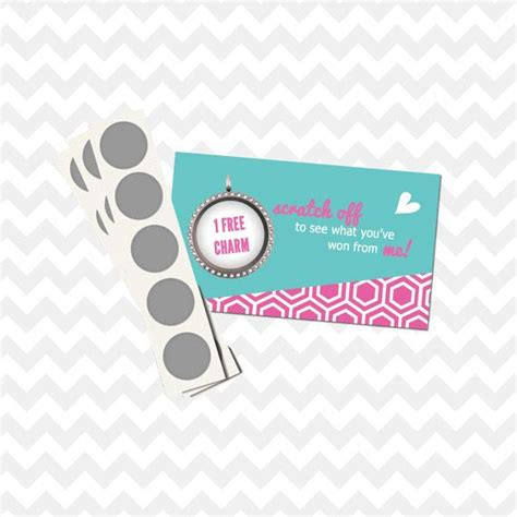 Origami Owl Cheap - scratch coupon discount reward cards origami owl