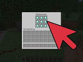 how to make a redstone dispenser loop in minecraft 5 steps