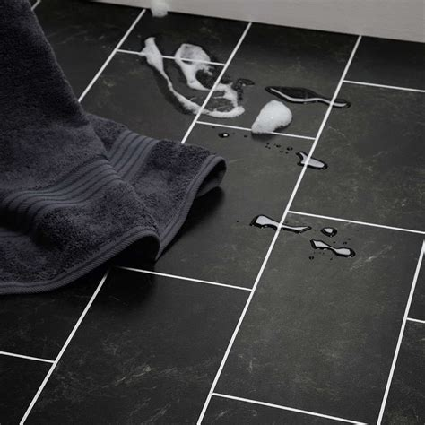 black marble flooring polyflor colonia imperial black marble 4515 vinyl flooring