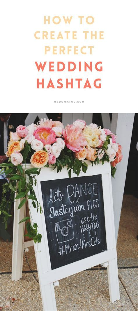 78 Best ideas about Hashtag Wedding on Pinterest   Hashtag