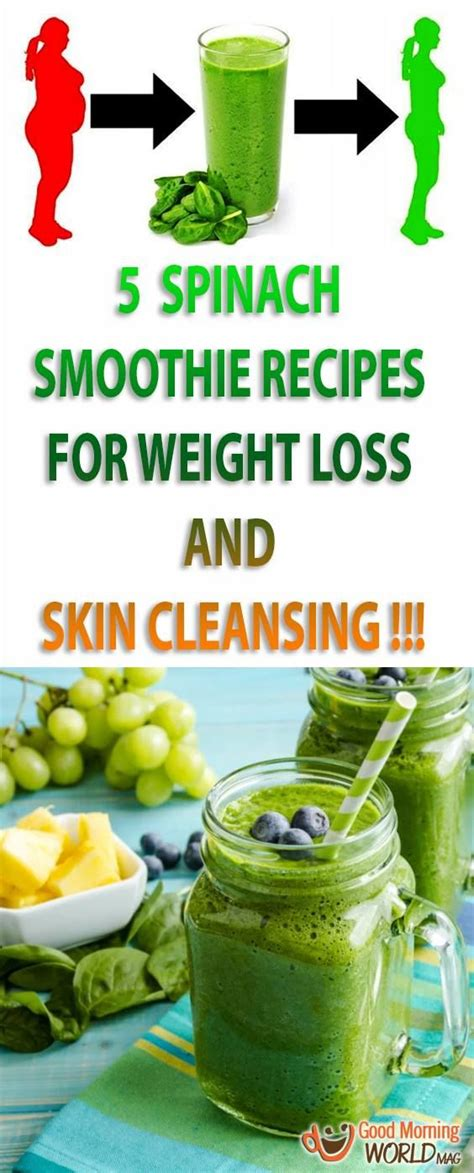 Spinach Detox Drink Recipe by 100 Spinach Smoothie Recipes On Smoothie