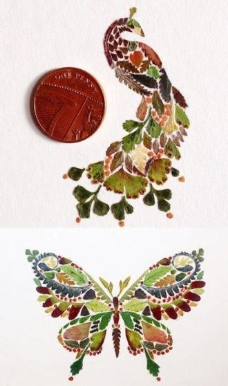 membuat kolase kupu kupu dari daun kering gambar berbagai contoh gambar kolase bahan biji bijian
