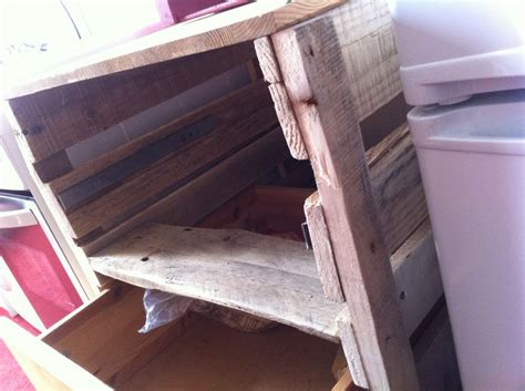 Diy Kitchen Drawers by Pallet Drawer Cupboard For The Kitchen Pallet Furniture