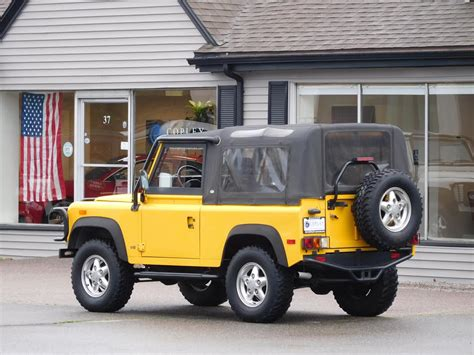land rover defender 90 convertible 1994 land rover defender 90 convertible copley motorcars