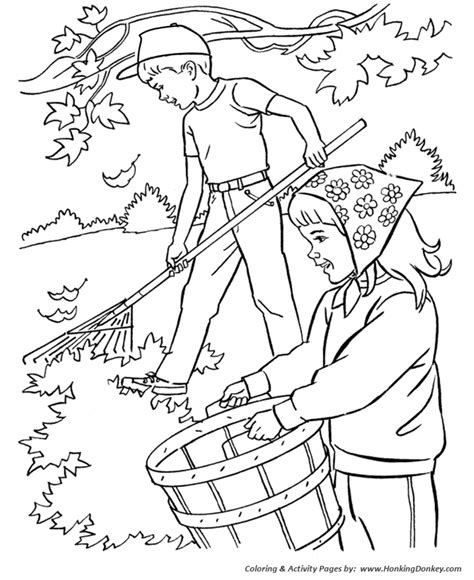 free coloring pages of autumn leaves to color