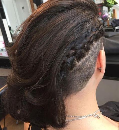 soft undercut hairstyle for women long hair women hairstyle trend in 2016 undercut hair
