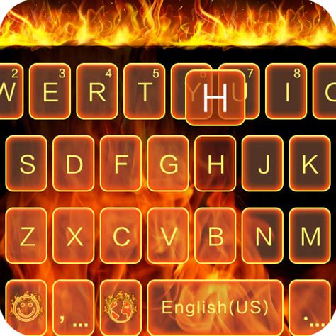 themes for kika keyboard amazon com fire theme for kika keyboard appstore for android