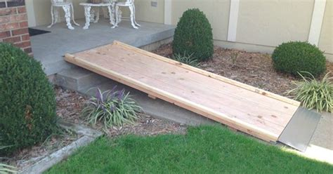 How To Build A Wheelchair Ramp Over Stairs Google Search
