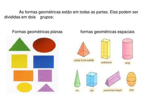 figuras geometricas espaciais geometria