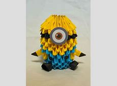 Despicable Me Minion 3D Origami by pandanpandan on DeviantArt Minion Despicable Me 2