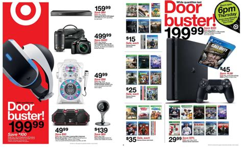 ps4 black friday sale target s black friday sale has 100 off psvr and ps4 15