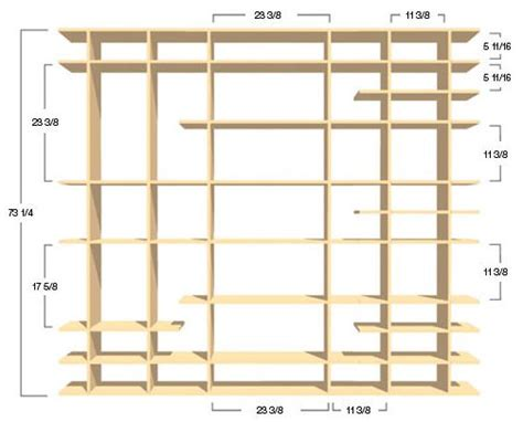 smart shelves dimensions and spacing smart furniture