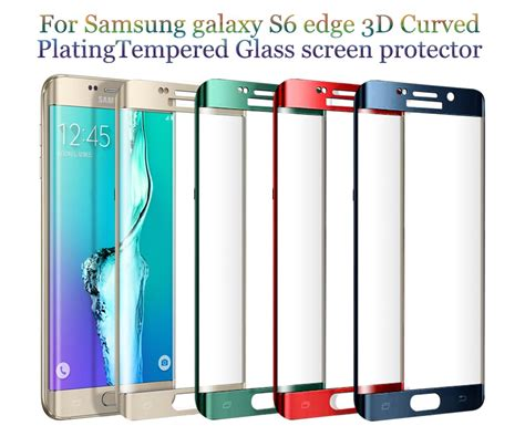 Tempered Glass Samsung S6 Edge Plus Cekung aliexpress buy 0 2mm 3d curved screen tempered glass for samsung galaxy s8 plus s8 s6