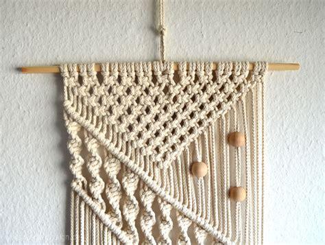 makramee wandbehang diy boho style ein selbstgemachtes makramee wandbeh 228 nge